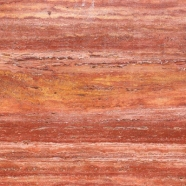 T111 Red Travertine