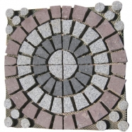 Multi Color Mesh Granite Paving 2