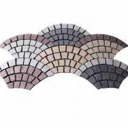 Muti Color Mesh Granite Paving 1