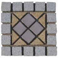 Multi Color Mesh Granite Paving 6