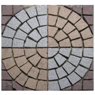 Multi Color Mesh Granite Paving 1