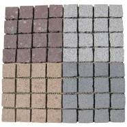 Multi Color Mesh Granite Paving 3