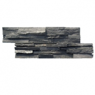 Black Color Slate Ledge Stone Corner