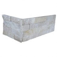 White Quzrtzite Ledge Stone