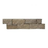 Q033 Tiger Skin  Quartzite Cement Base Ledge Stone
