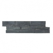 S007 Grey Slate Quartzite Cement Base Ledge Stone