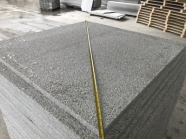 G603 Lunar Pearl Light Grey Granite Bush Hammered Finish with Water Sealing 2