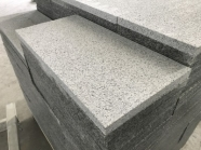 G603 Lunar Pearl Light Grey Granite Bush Hammered Tile 6