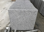 G603 Lunar Pearl Light Grey Granite Polished Big Size Tile 5