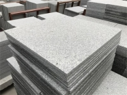 G603 Lunar Pearl Light Grey Granite Polished Tile 5