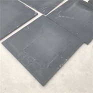 S018 Black Slate Tile Honed Finish 4