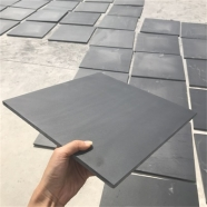 S018 Black Slate Tile Honed Finish 5
