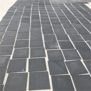 S018 Black Slate Tile Honed Finish 8