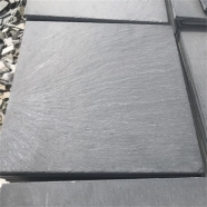 S018 Black Slate Tile Natural Split Finish 13